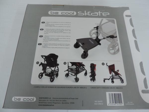 Nueva plataforma universal para llevar a un segundo niño Adaptable a la mayoría de cochecitos y sillas de paseo adecuados para niños desde 15 a 20 kg