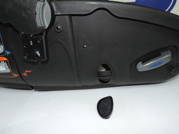 Este es el embellecedor de la parte de los pies del matrix light con numeracion 18837 Este embellecedor permite que circule el aire a través del capazo.