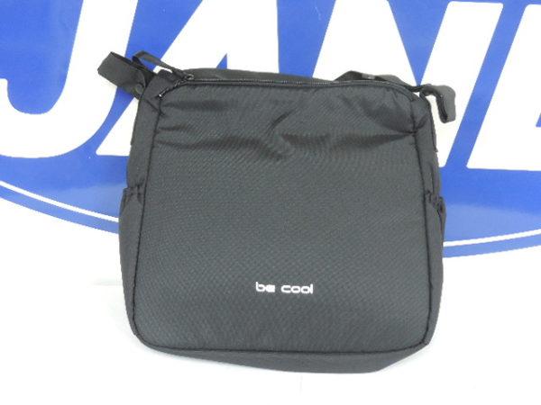 Bolso de nurse en color negro y gris universal para cualquier cochecito y silla de paseo se sujeta por la correa con unos crchetes