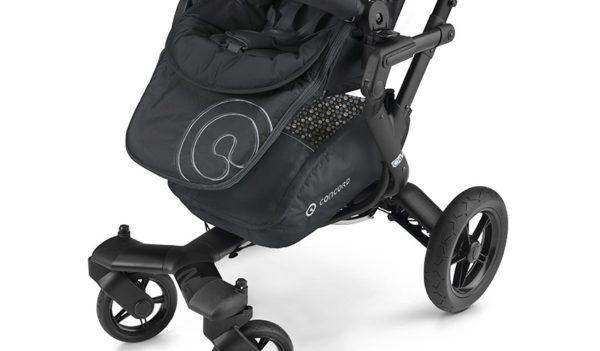 Cestilla para el modelo de concord neo gran capacidad en color negro con seis enganches para que lo puedas poner en la silla neo