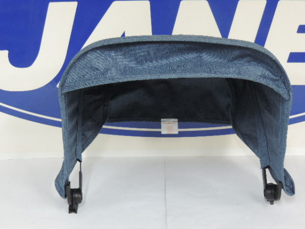 capota silla en color azul vaquero.