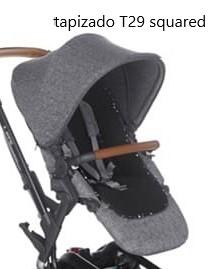 tapizado silla rider. capota, tapizado, colchoneta, cubre arnés. preguntar colores disponibles.