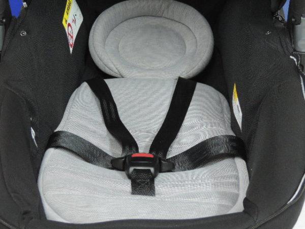 El portabebés con el que puedes llevar a tu bebé sentado o estirado, ambas posiciones homologadas, para ir en coche.  OFERTA VALIDA SOLO EN WEB