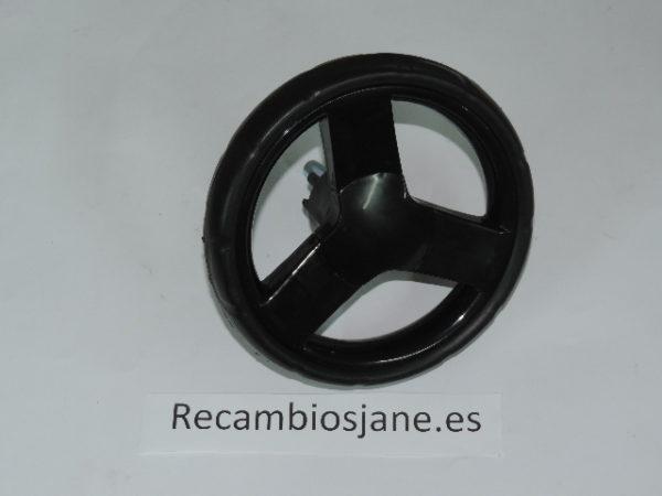 rueda trasera negra de modelo terra todas las versiones.