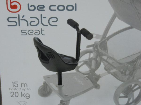 Asiento adaptable al patinete skate de be cool Se suministra solo el asiento el patinete es aparte
