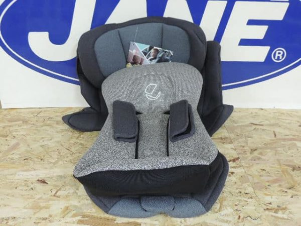Tapizado completo de la silla de auto groow en color gris U05 se compone de tapizado +cabezal +colchoneta +cubre arnés.